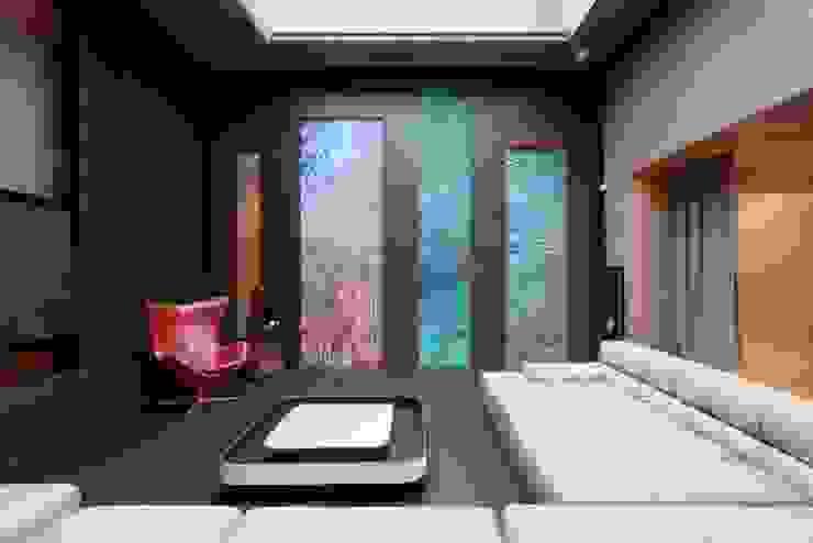 Minimalist Multimedya Odası VOX Architects Minimalist