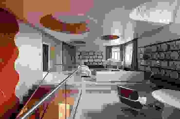 Minimalist Koridor, Hol & Merdivenler VOX Architects Minimalist