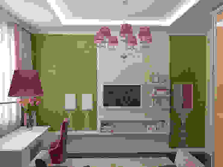 Восточные нотки Детские комната в эклектичном стиле от Проектное бюро O.Diordi Эклектичный