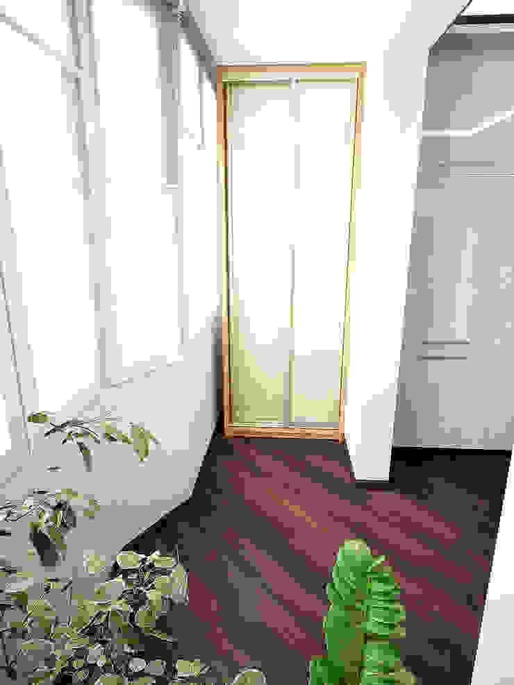 Восточные нотки Балконы и веранды в эклектичном стиле от Проектное бюро O.Diordi Эклектичный