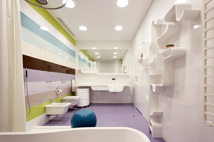 Minimalist Banyo VOX Architects Minimalist
