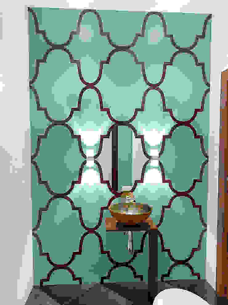 Восточные нотки Ванная комната в эклектичном стиле от Проектное бюро O.Diordi Эклектичный