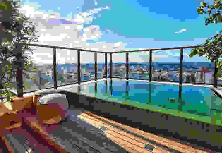 Albercas modernas de Tellini Vontobel Arquitetura Moderno