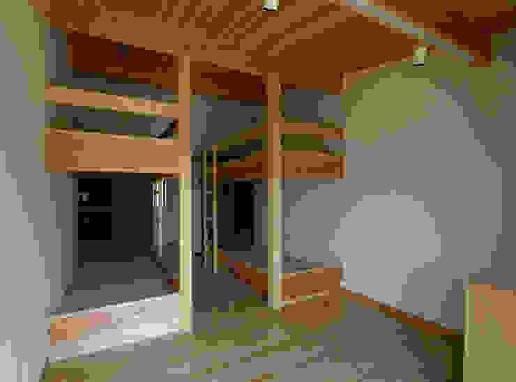 一級建築士事務所アールタイプ ห้องนอน