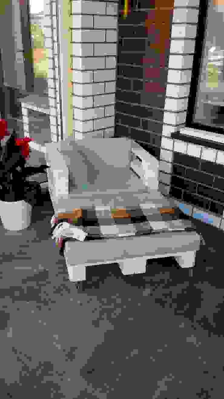 Комплект мебели из паллет на веранду от WoodMorning!_pallet joinery Лофт