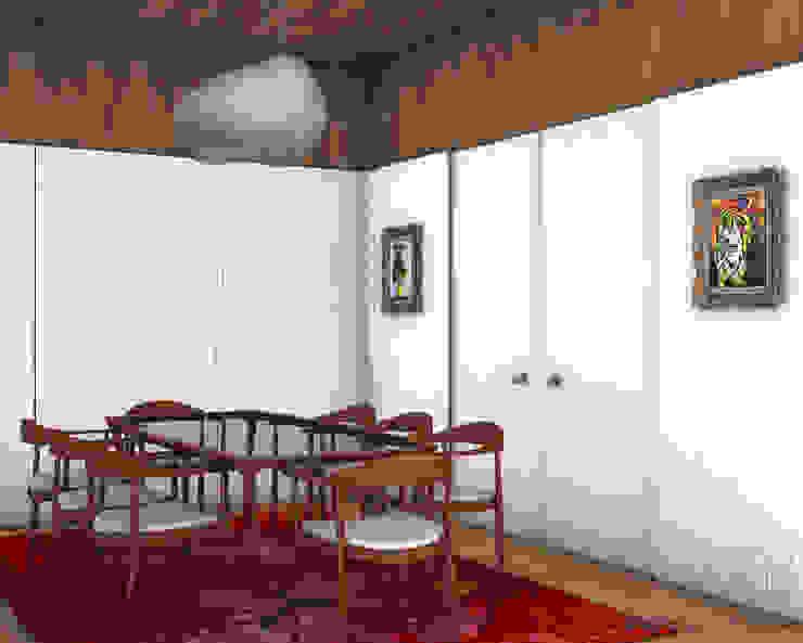 미니멀리스트 다이닝 룸 by Tiago Patricio Rodrigues, Arquitectura e Interiores 미니멀