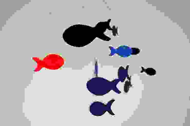 Poissons bleus par REBTIL Moderne
