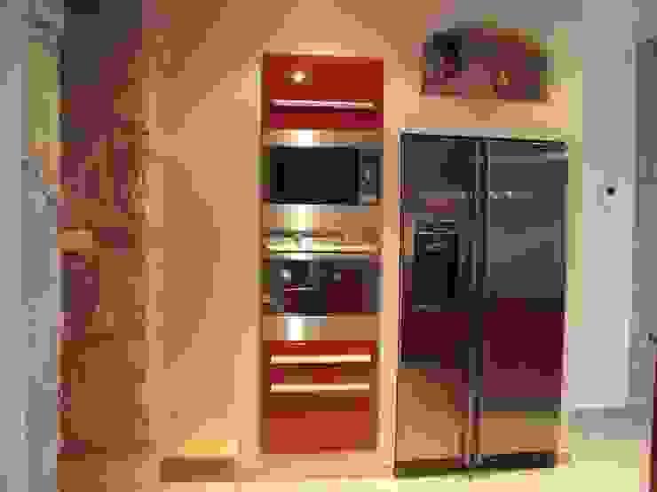 Cuisine restaurée Cuisine moderne par Atelier Cuisine Moderne