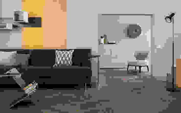 Dinding & Lantai Modern Oleh Timberplan Modern