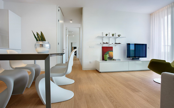 Moderne muren & vloeren van Timberplan Modern