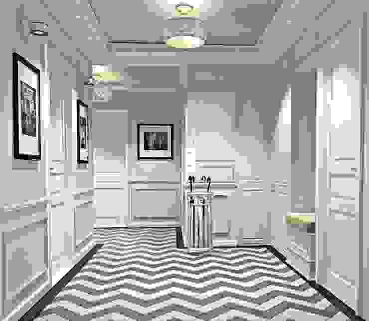 Квартира Шуваловский проспект. Коридор, прихожая и лестница в классическом стиле от Ivory Studio Классический