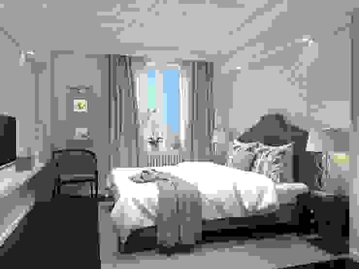 Квартира Шуваловский проспект. Спальня в классическом стиле от Ivory Studio Классический