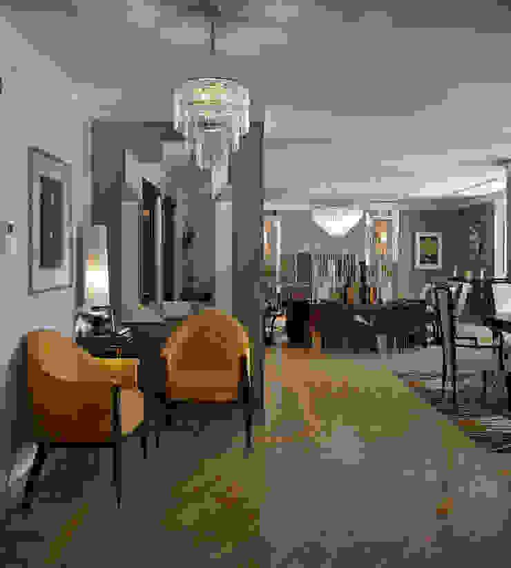 Гостиная в стиле Ар-деко Гостиная в стиле модерн от Sweet Home Design Модерн
