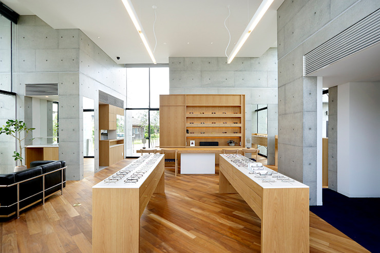 Modern offices & stores by 株式会社ミユキデザイン(miyukidesign.inc) Modern