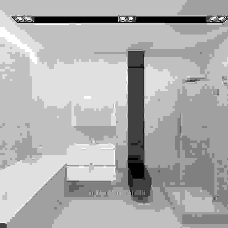 Интерьер санузла в стиле лофт Ванная в стиле лофт от Студия дизайна интерьера Руслана и Марии Грин Лофт