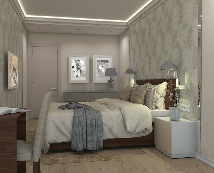 Eclectic style bedroom by Ivory Studio Eclectic