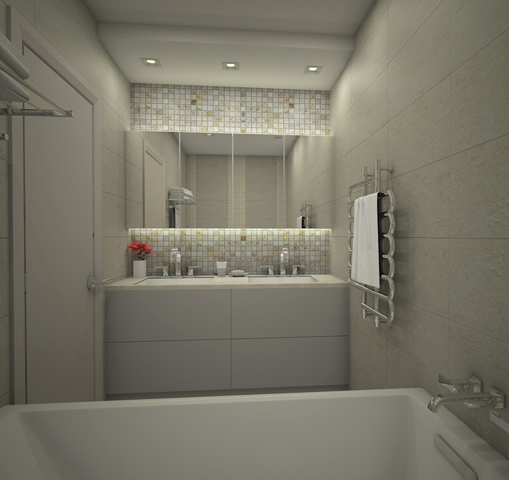 Eclectic style bathroom by Ivory Studio Eclectic