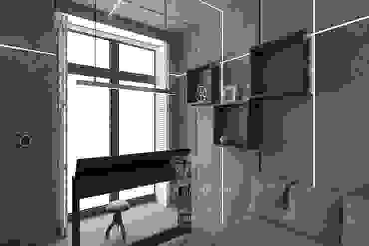 Дизайн кабинета в стиле лофт Рабочий кабинет в стиле лофт от Студия дизайна интерьера Руслана и Марии Грин Лофт