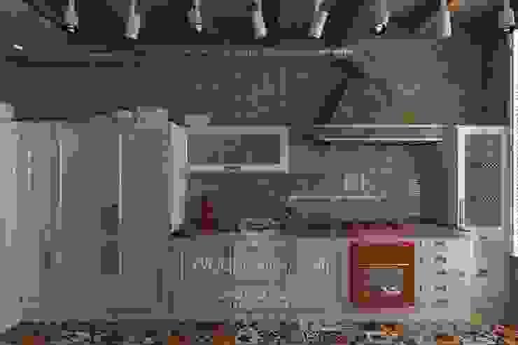 Дизайн кухни в стиле лофт Кухня в стиле лофт от Студия дизайна интерьера Руслана и Марии Грин Лофт