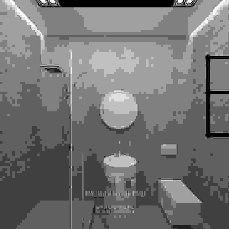 Интерьер ванной комнаты в стиле лофт Ванная в стиле лофт от Студия дизайна интерьера Руслана и Марии Грин Лофт