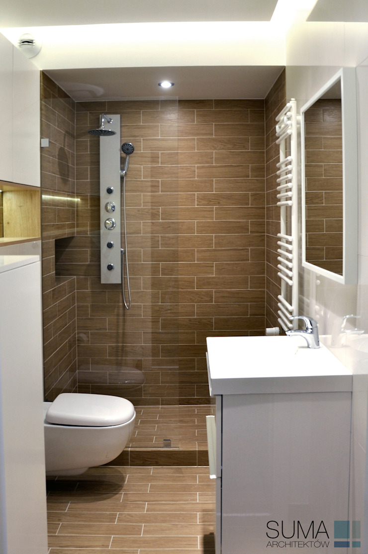 Modern Bathroom by SUMA Architektów Modern