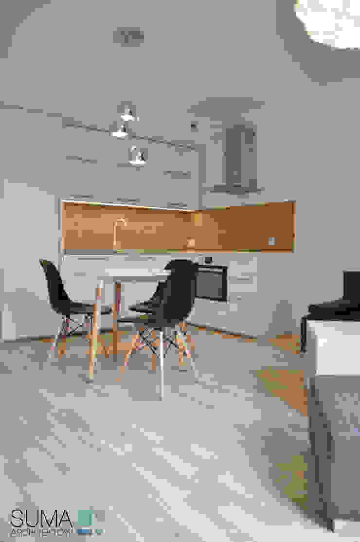 Modern Dining Room by SUMA Architektów Modern