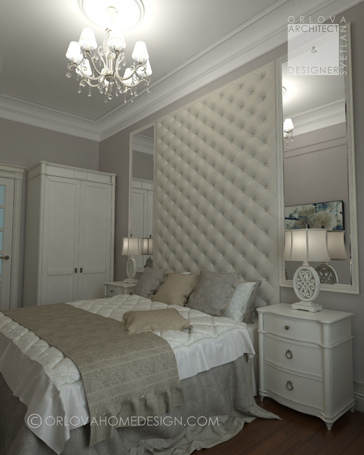 Classic style bedroom by Orlova Home Design Classic