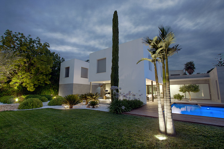 ARQ187 Jardines de estilo mediterráneo de Estudio de paisajismo 2R PAISAJE Mediterráneo