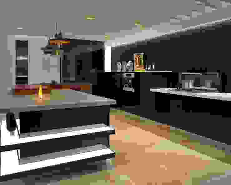 Кухня в стиле Хай-тек Кухня в стиле минимализм от Sweet Home Design Минимализм