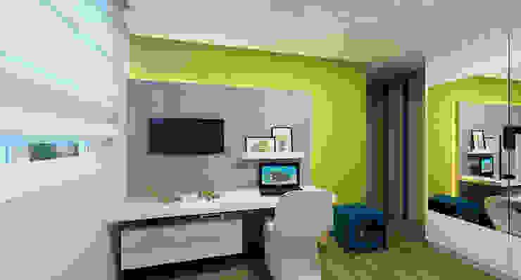 Phòng trẻ em phong cách hiện đại bởi Eliegi Ambrosi Arquitetura e Design de Interiores Hiện đại