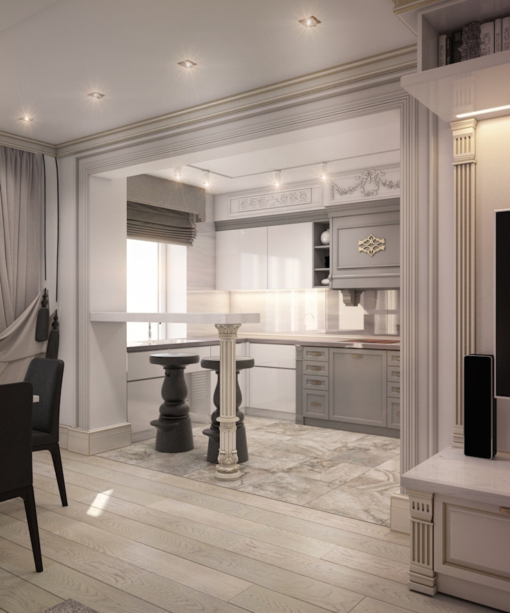 Dapur Klasik Oleh E_interior Klasik