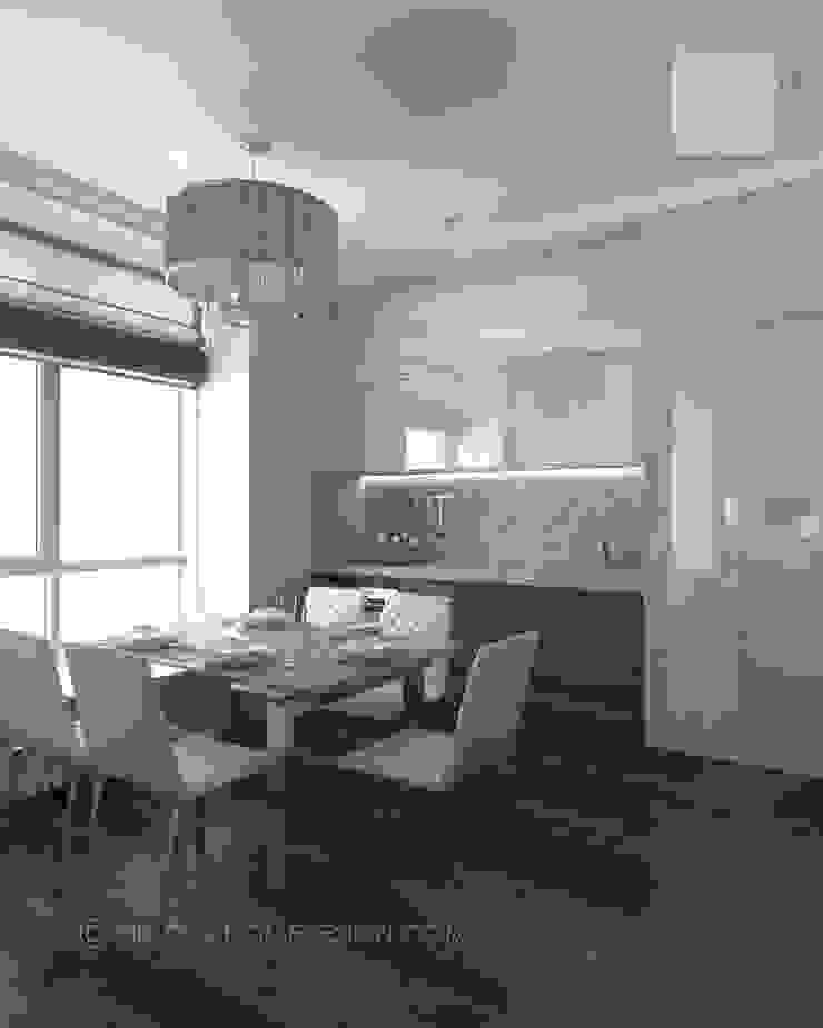 Квартира в Москве Кухни в эклектичном стиле от Orlova Home Design Эклектичный