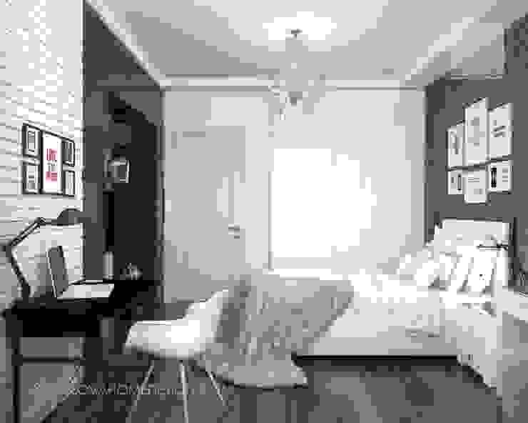 Квартира в Москве Спальня в эклектичном стиле от Orlova Home Design Эклектичный