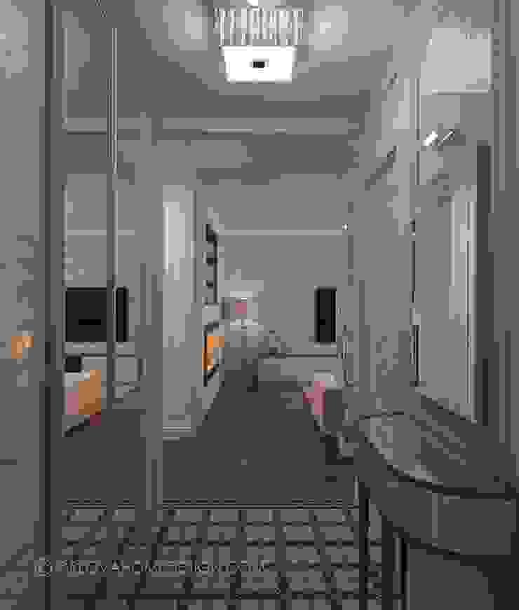 Квартира в Москве Коридор, прихожая и лестница в эклектичном стиле от Orlova Home Design Эклектичный