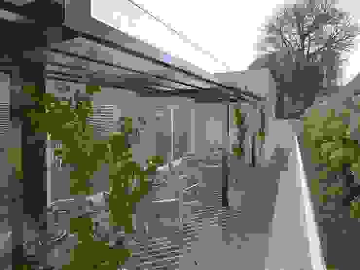 Área de Lazer para um Condomínio Residencial Piscinas modernas por Eliegi Ambrosi Arquitetura e Design de Interiores Moderno