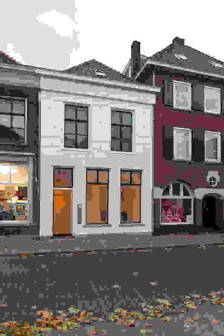 Minimalistyczne domy od architectenbureau Huib Koman (abHK) Minimalistyczny