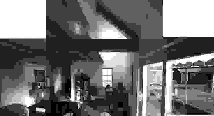 Doorsnede van woonruimte refereert aan hooizolder van architectenbureau Huib Koman (abHK)