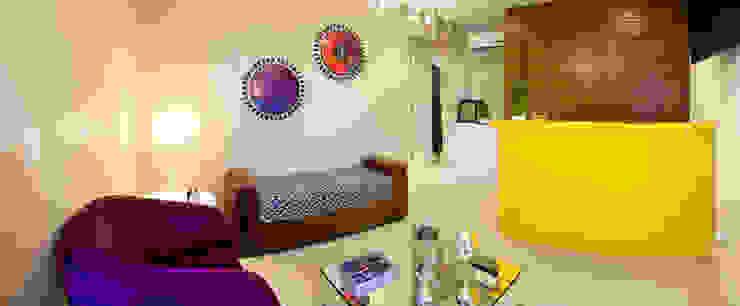 Recepção Color Break Shopping Centers modernos por Vanessa Cravo Arquitetura Moderno