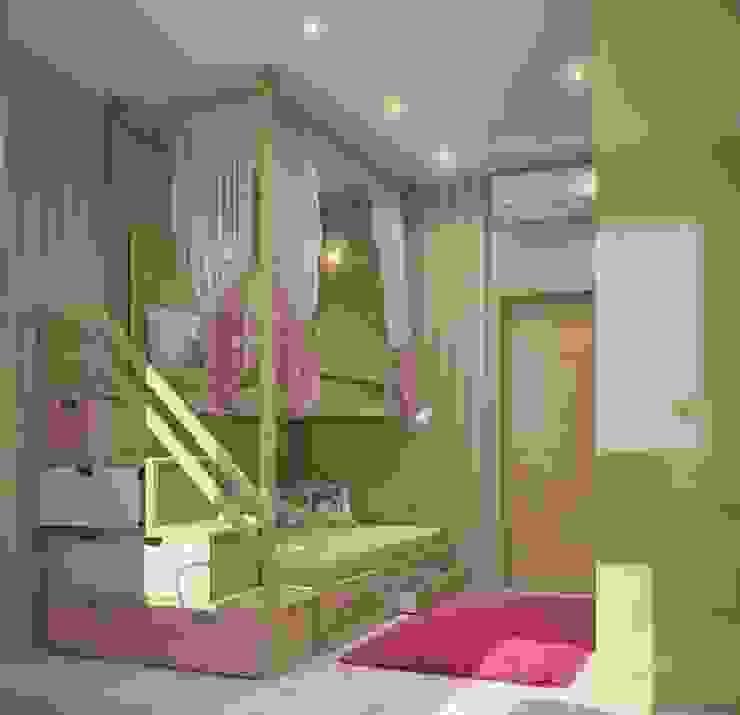 Квартира в В.Пышме Детская комнатa в скандинавском стиле от E_interior Скандинавский