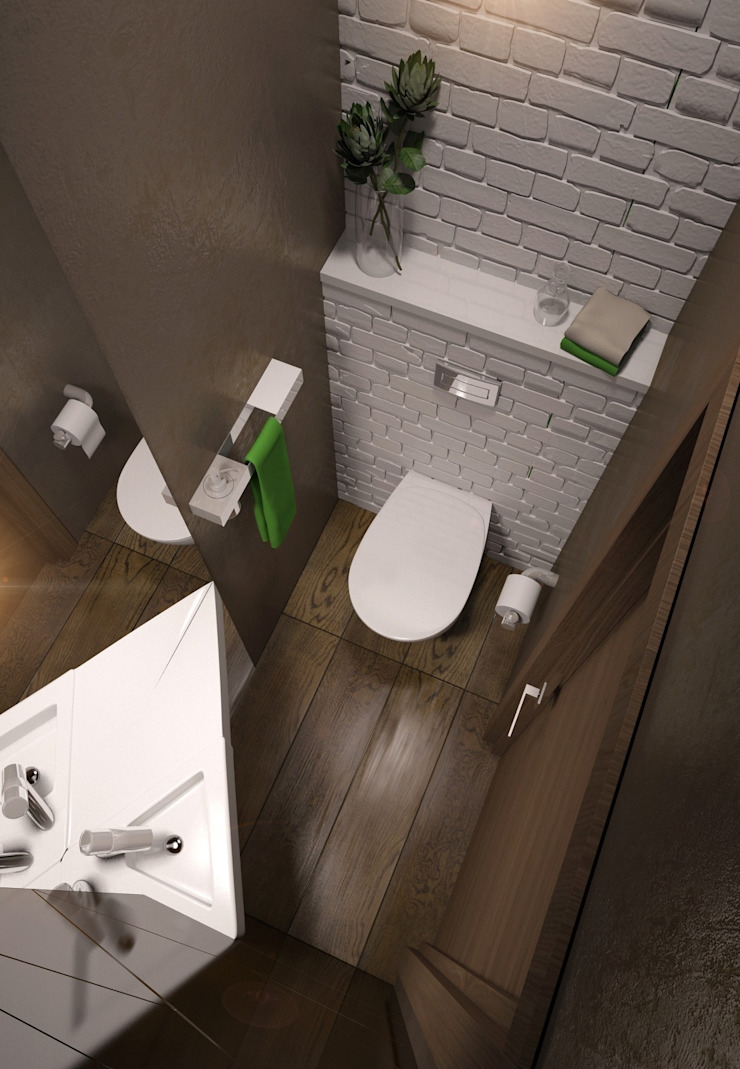 Eclectic style bathroom by E_interior Eclectic