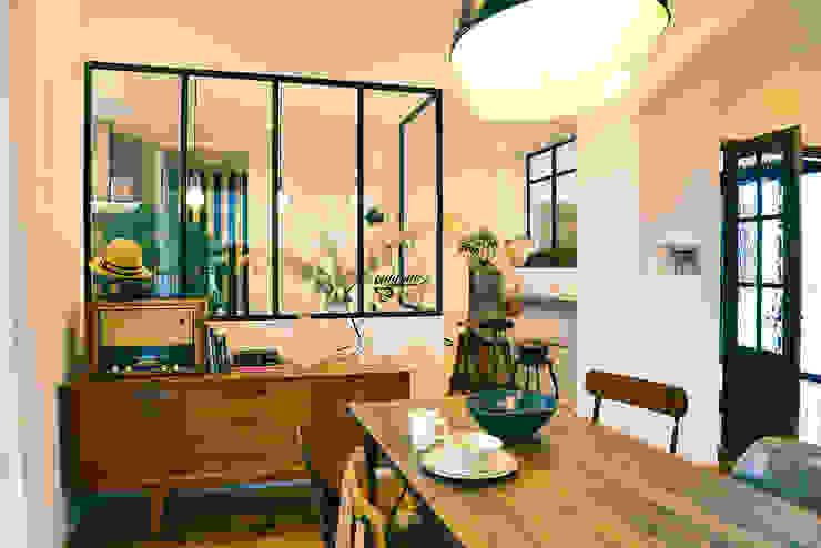Modern dining room by パパママハウス株式会社 Modern