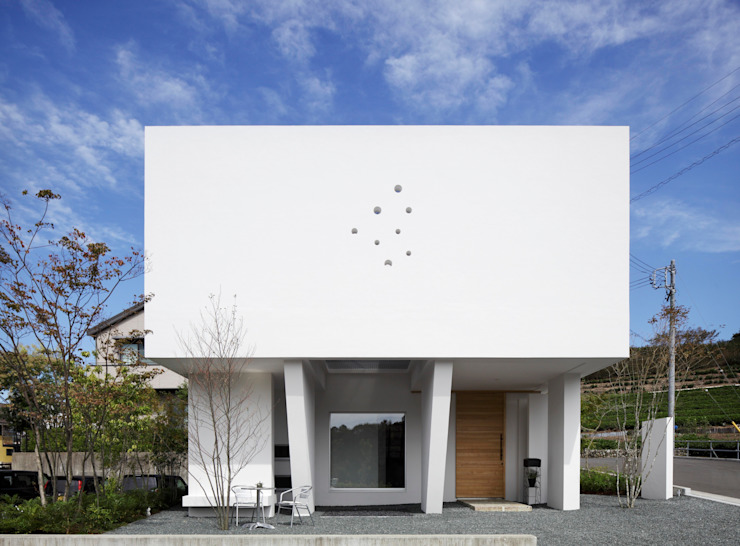 Casas estilo moderno: ideas, arquitectura e imágenes de 久保田正一建築研究所 Moderno
