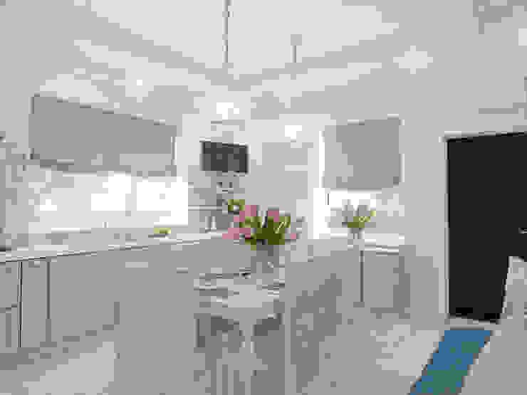 Американская мечта Кухня в классическом стиле от Volkovs studio Классический