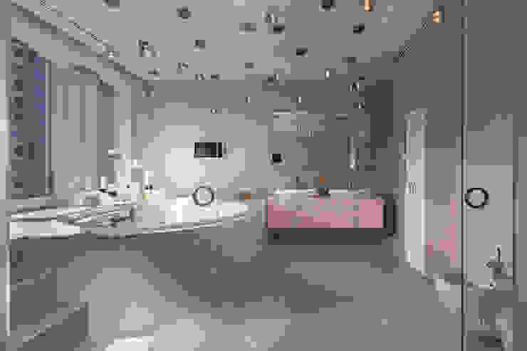 Fashion apartment Ванная комната в стиле минимализм от Yakusha Design Минимализм