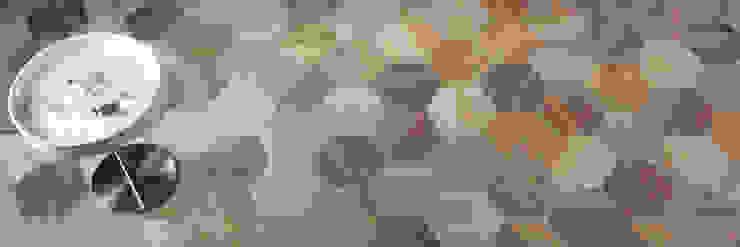 Projekty,  Salon zaprojektowane przez The Baked Tile Company , Nowoczesny