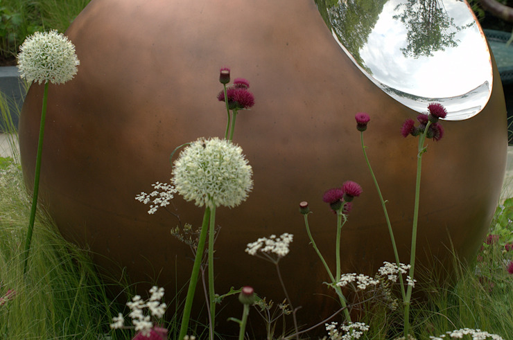 Chelsea Flower Show 2014: David Harber sculpture garden de Susan Dunstall Landscape & Garden Design