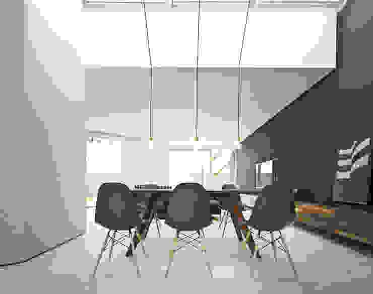 psh Minimalist dining room