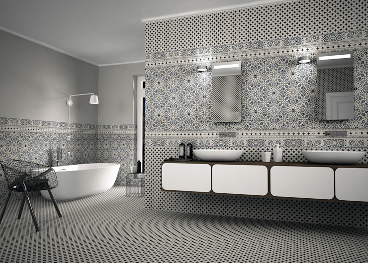 Karaja Modern bathroom by The Baked Tile Company Modern
