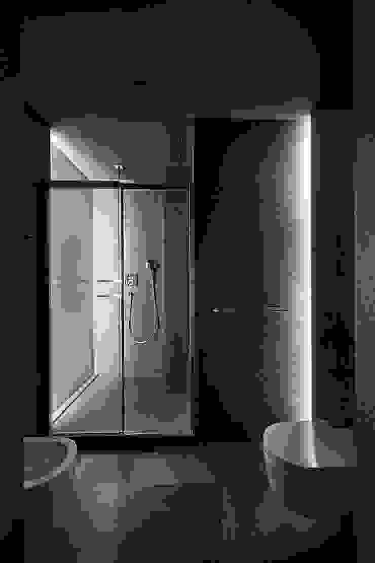 Квартира для Космополита Ванная комната в стиле минимализм от INCUBE Алексея Щербачёва Минимализм