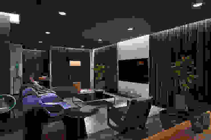 Living room by INCUBE Алексея Щербачёва, Minimalist